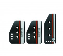 Sparco Settanta pedal cover set black