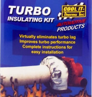 Turbo thermal insulation kit