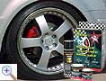 Brake caliper paint set