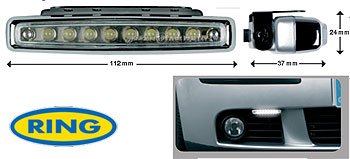 Coppia Luci DSL Led 112 mm