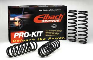 Eibach Springs and Antiroll bars, sport lowering