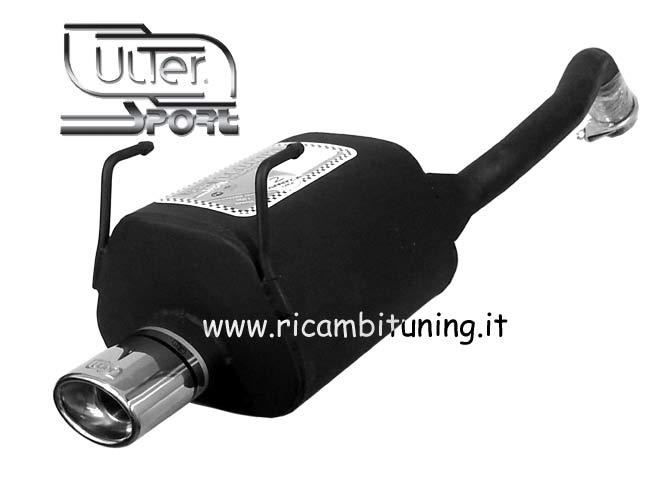Ulter Sport High Performance Exhaust System Fiat Panda Ii