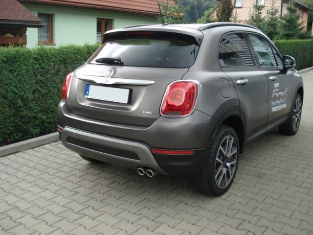 ulter sport high performance exhaust system fiat 500x. Black Bedroom Furniture Sets. Home Design Ideas