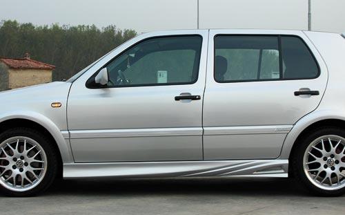 Paraurti minigonne prese aria palpebre volkswagen for Filtro aria cabina da golf vw