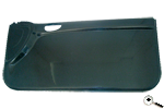 Front pair door panels in carbon fibre