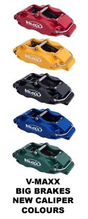 V-Maxx Big Brakes 5 new Caliper Colours