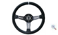 Sparco dished steering wheel L777 smooth leather