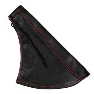 Leather handbrake gaiter