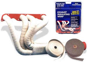 Exhaust insulation wrap 50mm x 10mt