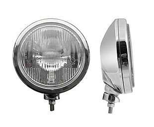X-Due, halogen driving light with position light 201 mm