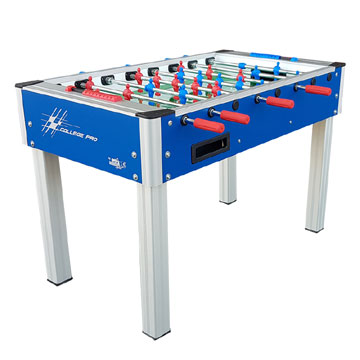 College Pro Blue Foosball Table by Roberto Sport