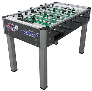College Pro Charcoal Foosball Table by Roberto Sport