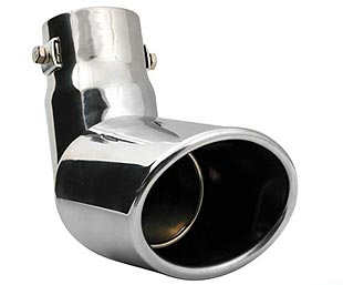 Elbow 120° exhaust pipe