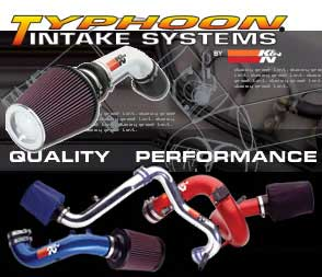 K&N High Performance Air Intake Kits