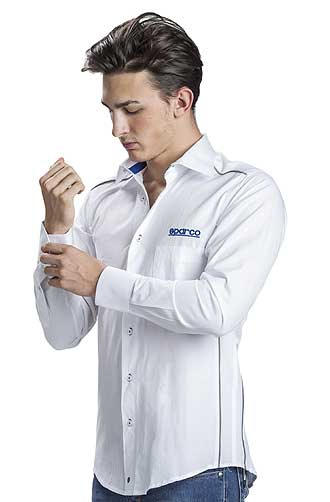 Sparco long sleeve cotton shirt