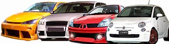 Bumper - Sideskirts - Air intakes - Eyebrows