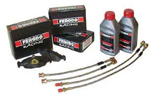 Ferodo Racing Pads, Brake Hoses and Fluid