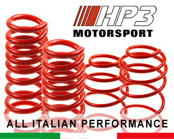 HP3 Lowering Springs Kit