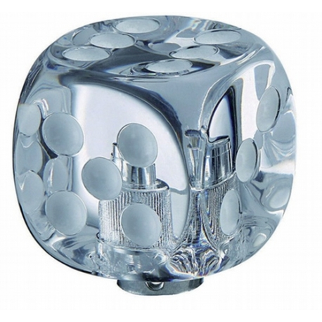 Pomello - Dice cristal white