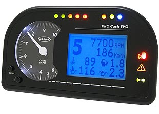 Multifunction electronic dashboard Pro-Tack Evo