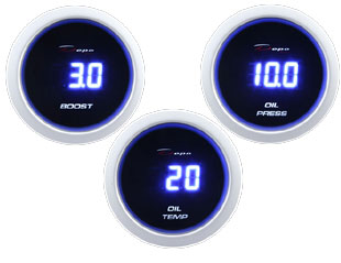 Digital gauges by Depo Racing