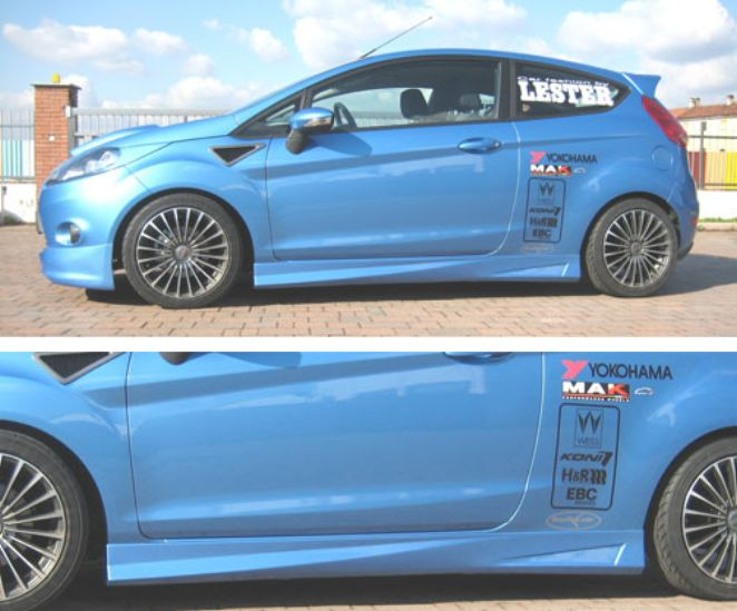 Paraurti Minigonne Prese Aria Palpebre Ford Fiesta Ricambi